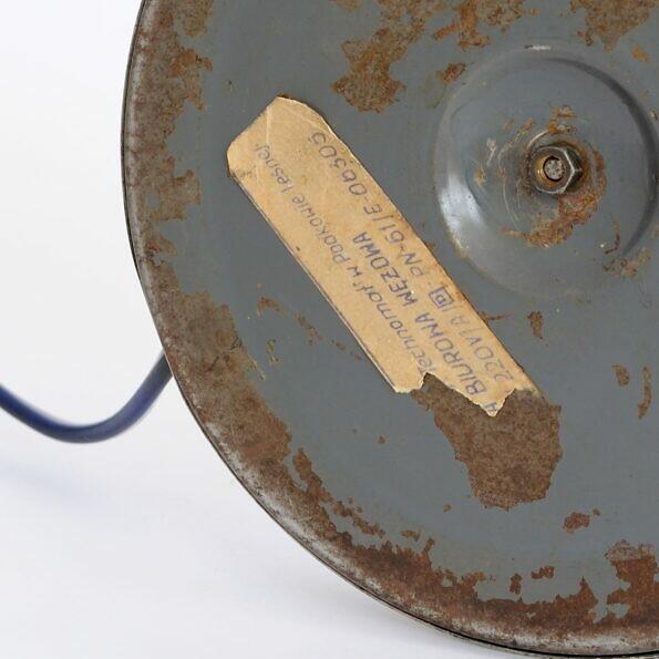 Sygnatura lampa biurowa wężowa technomat w Podkowie Leśnej