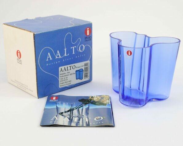 wazon iittala Aalto z oryginalnym pudełkiem