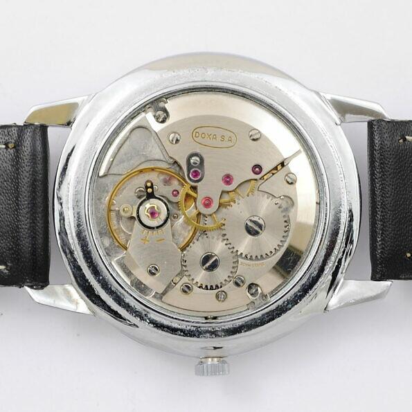 mechanizm zegarka Doxa lata 50