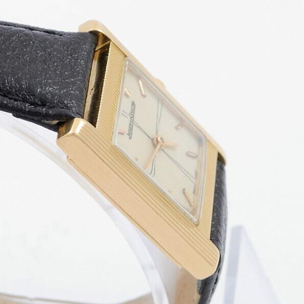 Koperta złotego zegarka Jaeger Lecoultre