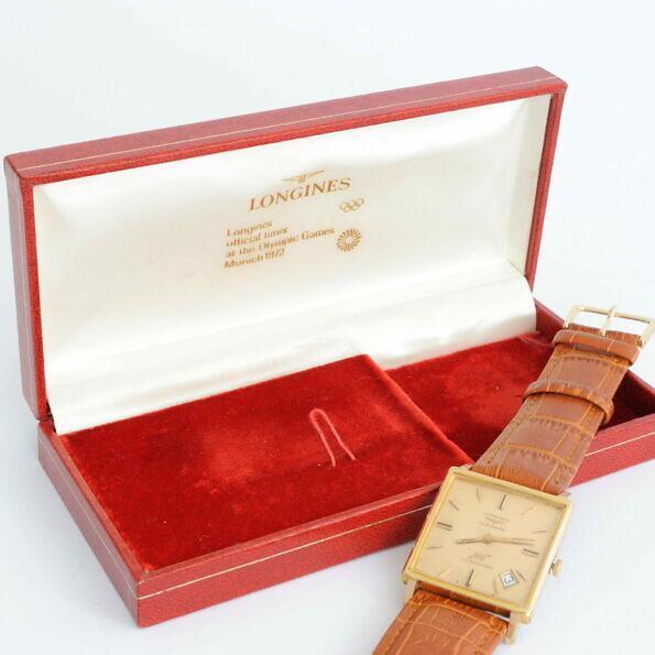 Zegarek Longines z oryginalnym pudełkiem Monachium 1972