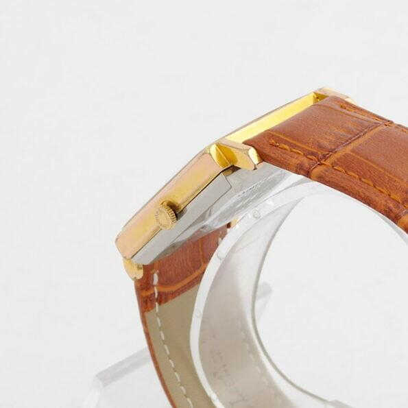 pozłacana koperta zegarka Longines