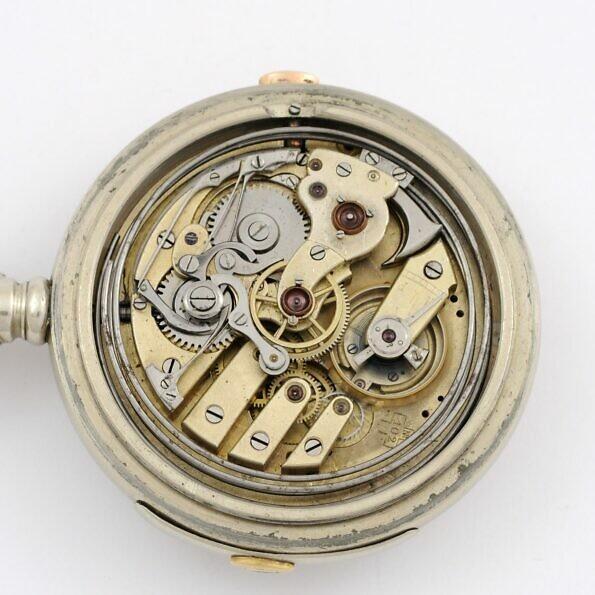 mechanizm zegarka kieszonkowego z repetierem i chronografem