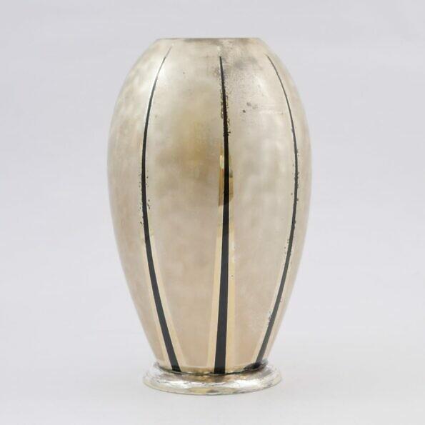 matt silver ikora vase