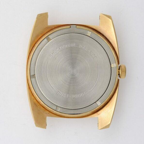 wostok wristwatch back