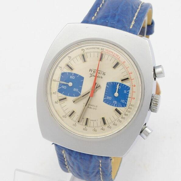 Zegarek chronograf Renis Geneve na Valjoux 7733