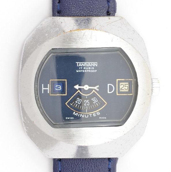 Zegarek typu gazomierz