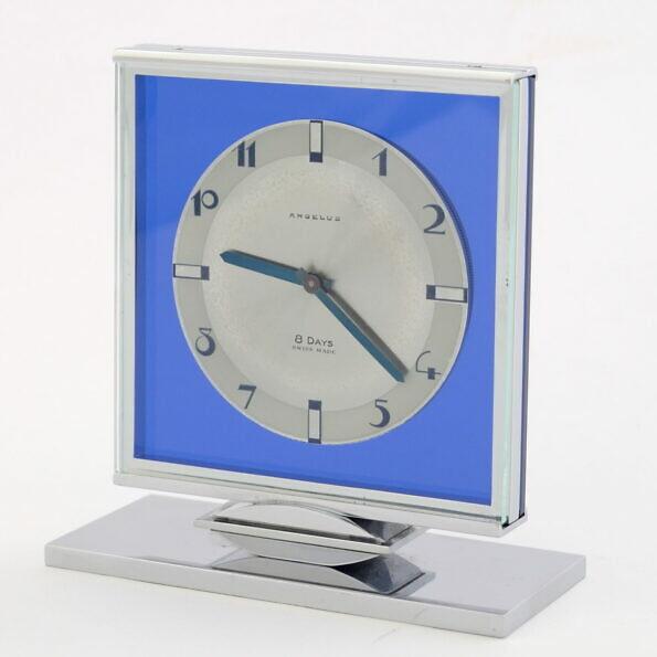 8 dniowy szwajcarski zegar Angelus Stolz Freres