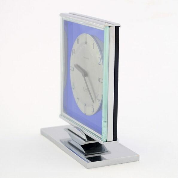 Zegar biurkowy art deco Angelus