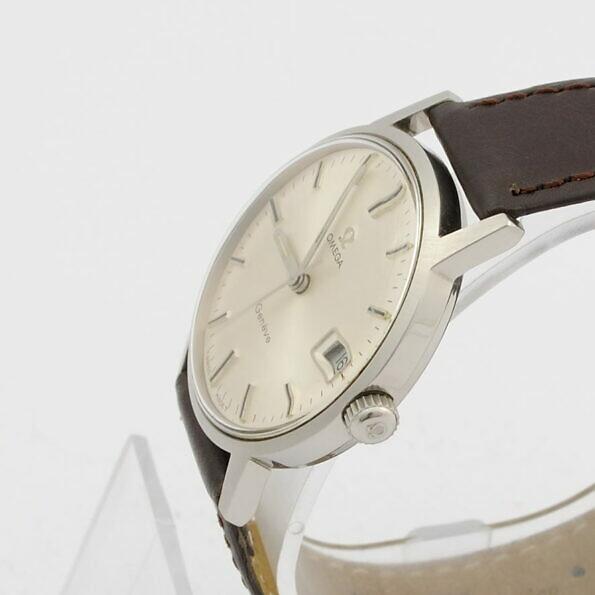 Zegarek Omega Geneve z oryginalną koronką