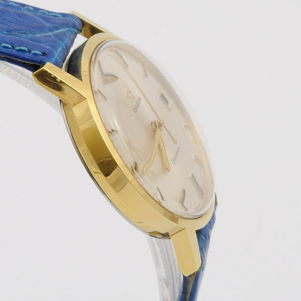 gold plated omega geneve 136.070