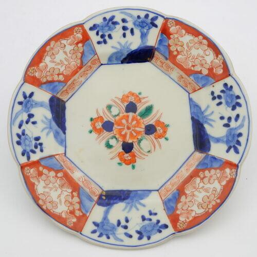 Porcelanowy talerz Imari