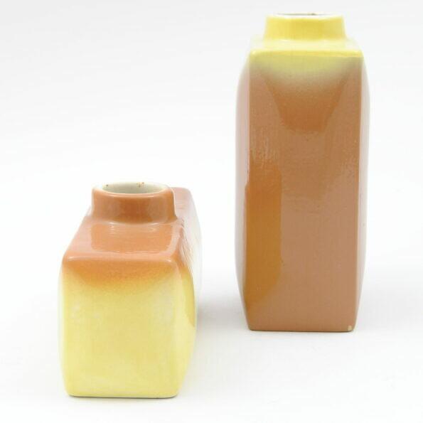 Para wazonów Kravsko z Czechosłowacji