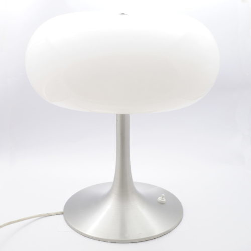 Aluminiowa lampa space age