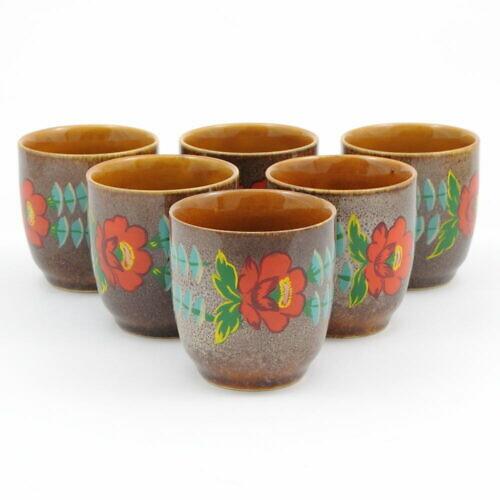 Ręcznie malowane kubki Mirostowice / Zalipie