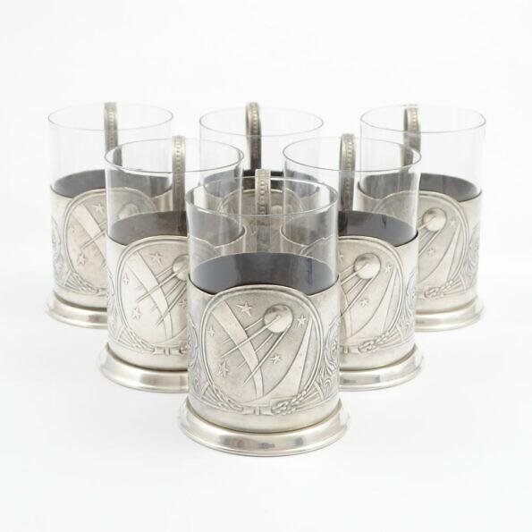 Koszyczki do szklanek ze Sputnikiem