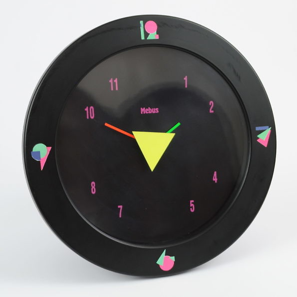Postmodern Wall Clock from Mebus