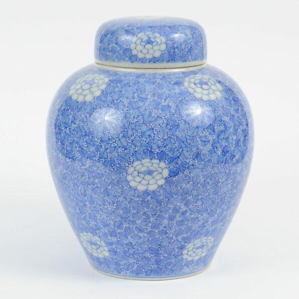 Japońska porcelanowa waza Seto, 1900