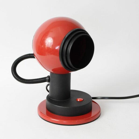 Lampa kula, proj. Vrieland Design, Holandia lata 70.